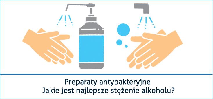 CHANTARELLE Preparaty antybakteryjne stezenie alkoholu