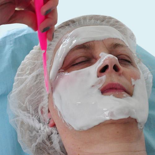 Maska plastyczna algowa alginat bez grudek